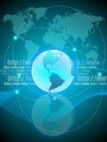 global anslutning Arkivfoton