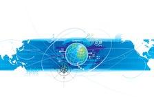 global anslutning Arkivbild