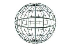 Global arkitektonisk metalltråd Fotografering för Bildbyråer