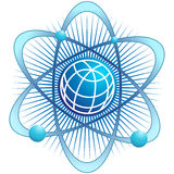 Global Atom Royalty Free Stock Photo
