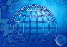Global background Stock Photo