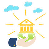 Global banking Royalty Free Stock Photography
