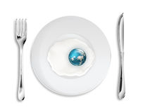 Global breakfast Royalty Free Stock Photos