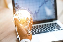 Global business1 2 3 4 5 royalty free stock images