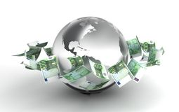 Global Business. (computer generated image stock illustration