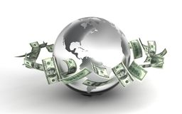 Global Business. (computer generated image Vector Illustration