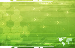 A Global Business Abstract green Background stock photos