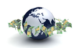 Global Business Australian Currency Stock Photography