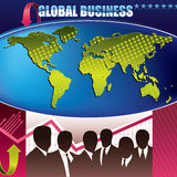 Global business background Royalty Free Stock Photo