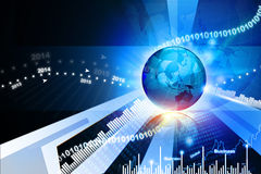 Global business background Stock Images