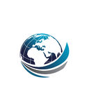 Global business brokers abstract 4 business insurance abstract Royalty Free Stock Photography