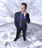 Global business call Stock Photo
