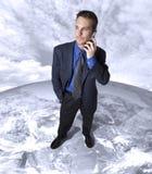 Global business call stock photo
