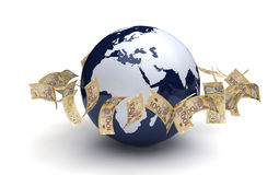 Global Business Canadian Currency Royalty Free Stock Images