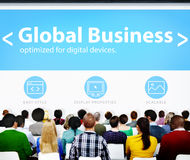 Global Business Commerce Organization Seminar Concference Learni Royalty Free Stock Photography