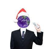 Global Business Communication, Christmas Theme Royalty Free Stock Images