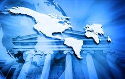 Global business concept stock illustration