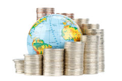 Global business concept Royalty Free Stock Photos