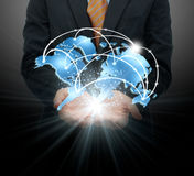 Global business concept Royalty Free Stock Photo