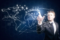Global business concept Royalty Free Stock Image