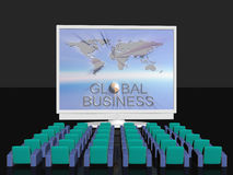 Global business conference Royalty Free Stock Images