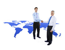 Global Business Cooperation Greeting Handshake Royalty Free Stock Photos