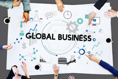 Global Business Corporate International Network Concept Stock Image