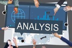 Global Business Data Analysis Growth Success Concept Royalty Free Stock Photos