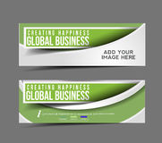 Global Business Design Banner Royalty Free Stock Images