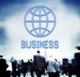 Global Business Enterprise Economics Corporation Concept Stock Photography