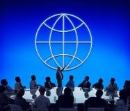 Global Business Enterprise Economics Corporation Concept Stock Photo