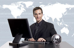Global business exec Royalty Free Stock Image