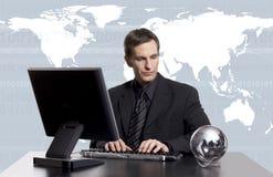 Global business exec Royalty Free Stock Photos
