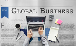 Global Business Export Import Networking Growth Concept Stock Photo