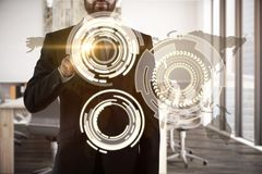 Global business and finance concept Royalty Free Stock Photos