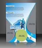Global Business Flyer Design Stock Images