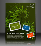 Global Business Flyer Royalty Free Stock Images