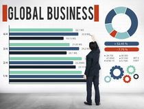 Global Business Growth Corporate Development Concept Stock Photo