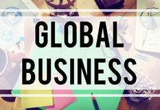 Global Business Growth Opportunity International Concept Stock Photography