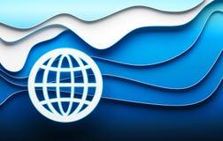 Global business illustration Stock Image