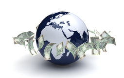 Global Business Indian Currency Stock Photo