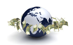 Global Business Iranian Rial Currency Stock Photography
