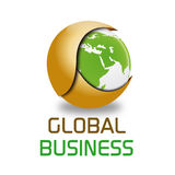 Global business logo Royalty Free Stock Photos
