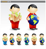 Global Business Man stock images
