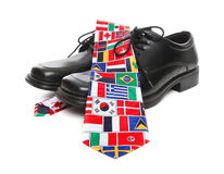 Global Business Man Theme Stock Photo