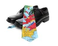 Global Business Man Theme Royalty Free Stock Image
