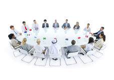 Global Business Meeting Diversity Concept Stock Images