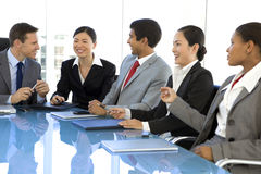 Global business meeting Royalty Free Stock Photos