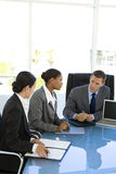 Global business meeting Stock Images