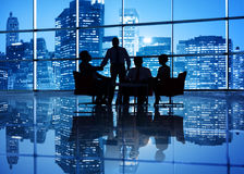 Global Business Meeting Stock Photography